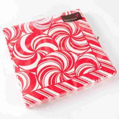 Front view of Holiday napkins