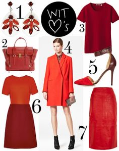 Wearing It Today: Currently obsessed with touches of Red