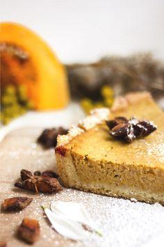 Pumpkin pie by livefolk on Creative Market