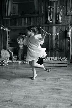 Childhood. Dance. Happiness.