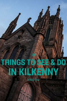 Kilkenny is my favorite city in Ireland. Check out this post featuring 14 activities to do and things to see in medieval Kilkenny, Ireland. Scotland Travel, Ireland Travel, Scotland Trip, Ireland Food, Galway Ireland, Cork Ireland, Ireland Hiking, Backpacking Ireland, Best Of Ireland