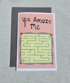 You Amaze Me Illustration greetings love friendship by yayhooray