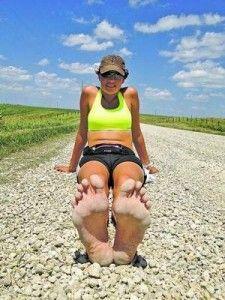Barefoot Runner Treks Across America To Raise Money For Needy Children