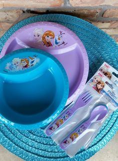 Frozen Bowl u0026 Plate Purple u0026 Aqua Set of 2 Disney //.amazon.com/dp/B0194EBRPY/refu003dcm_sw_r_pi_dp_zkRKxbN9SE59M | Disney Frozen | Pinterest | Disney ... & Frozen Bowl u0026 Plate Purple u0026 Aqua Set of 2 Disney https://www.amazon ...