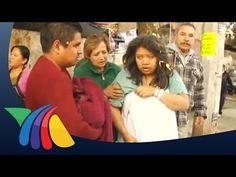 Actos de heroismo durante la tragedia de Cuajimalpa   Noticias - YouTube