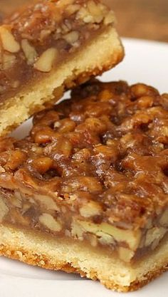 The Best Ever Pecan Pie Bars...