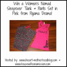 Housewife on a Mission: Pajama Drama {Guest Review + a Giveaway}!