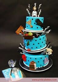 Sewing cake Birthday