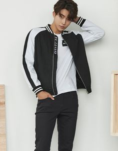 South Korean model and actor Nam Joo Hyuk is the latest star to endorse the fashion brand UGIZ. The actor steals hearts with his perfect boyfriend look completed with hot fashion items such as bomber jackets, sweatshirts, skinny jeans, and more. Korean Fashion Men, Korean Men, Mens Fashion, Fashion Brand, Boy Fashion, Asian Boys, Asian Men, Asian Actors, Korean Actors