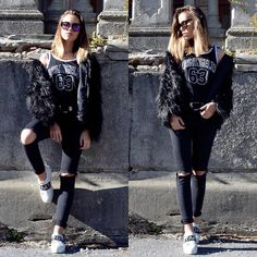 OUTFIT OF THE DAY BY @putallonme #howtochic #ootd #outfit