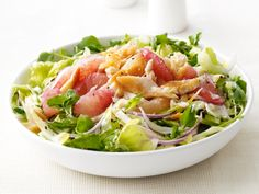 Smoked Trout and Grapefruit Salad from #FNMag