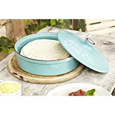 Ceramic Tortilla Warmer - From Lakeland (For pancakes too...?)