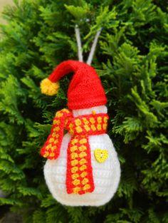 Crochet Christmas Tree Decoration Christmas Tree by benasworkshop
