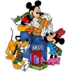 disney christmas mail
