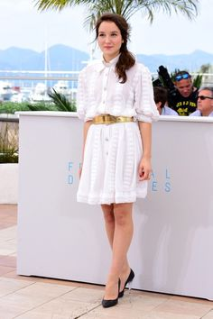 Anais Demoustier in Chanel - 'Marguerite and Juliet' Photocall - The 68th Annual Cannes Film Festival - May 19, 2015