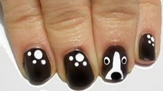 Tutorial: Easy Dog Nail Art