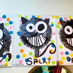 Kids Art Class, Art For Kids, Crafts For Kids, Arts And Crafts, Paper Crafts, Splat Le Chat, Welcome To School, Kindergarten Art Projects, Ecole Art