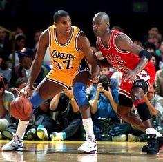 Magic Johnson vs Michael Jordan, NBA Finals (1991)