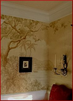 Dining Room Mural continued...