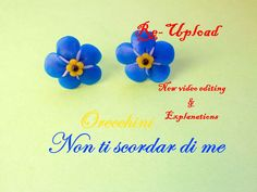 forget me not / nezabudky flower tutorial