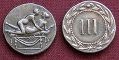 Descubra como eram as moedas do sexo utilizadas na Roma Antiga – História sem Fim  Revista Superinteressante