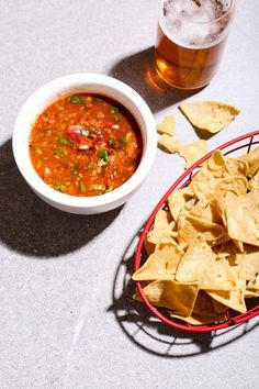 Roasted Tomato & Chipotle Salsa