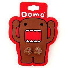 Domo Stud Earrings $3.99