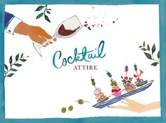 Not all weddings take place at the Ritz. Cocktail attire is showing up on bachelorette party invitations, dinner party invitations, and wedding invitations alike. So what is cocktail attire, exactly? Answer on the #paperlesspost blog.