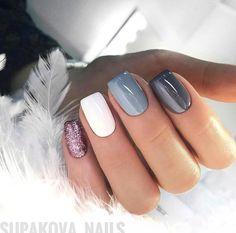 Nyc Nails, Glam Nails, Beauty Nails, Winter Nails, Spring Nails, Love Nails, Pretty Nails, Gelish Nails, Nagel Gel
