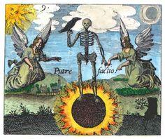 "Alchemie: Nigredo, die ""sol niger"" (das Ur-Chaos, die ""prima materia"")"