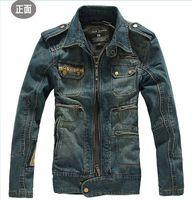 Autumn Mens Jackets Denim Winter Male Jeans Jackets Mens Bomber Jacket…