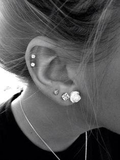 Cartilage ear piercing care!