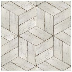 If you are looking for a distressed wood look, this tile is just right for you. With mixed blanco tones, this product will match almost any room design. Use this tile indoors or outdoors because it is impervious and frost resistant.