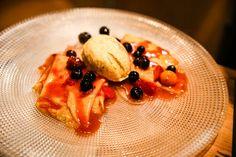 Feuriger Klassiker im Restaurant DaCaio: Crêpes Suzette
