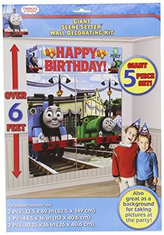 Thomas the Tank Scene Setter Amscan https://smile.amazon.com/dp/B00767ONWG/ref=cm_sw_r_pi_dp_tOJzxb62AQQHN