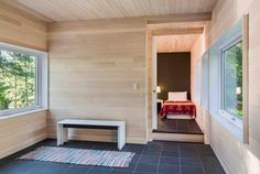 Hyytinen Cabin in Northern Minnesota replaces an old non-insulated structure - CAANdesign