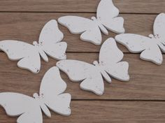 Butterfly Wood Forms  Cottage Chic Supplies  by DLDesignerCrafts