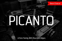 Picanto Font by Tosca Digital on @creativemarket