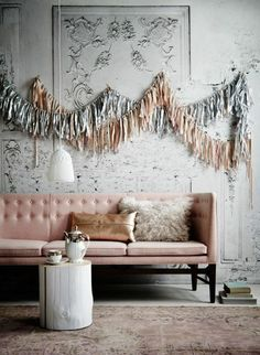 Read Domino's guide to learn how to style your space in the copper and pink color trend. Read ways to incorporate this fall color palette in your interior design with furniture and accents. Home Interior, Interior And Exterior, Interior Decorating, Interior Ideas, The Design Files, Home And Deco, New Wall, My New Room, Room Colors