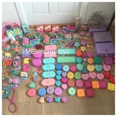 My huge vintage polly pocket collection. Visit MEvintagetoys youtube channel to see more.