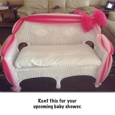 unique item for your upcoming baby shower. Contact us today to rent