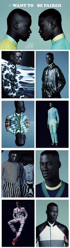 Want To Be Paired editorial for the spring/summer 2013 edition of Commons and Sense Magazine