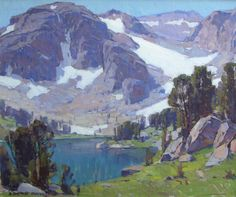 High Sierra.  Edgar Payne.