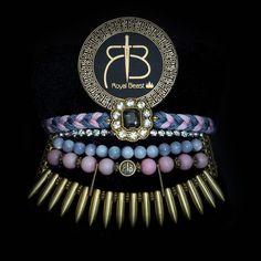 "RDB1 ""Dirty Pink"" spikes bracelet with charm by ROYAL BEAST DESIGN – JAANTE-SHOWROOM.COM  #royalbeastdesign #swissbrand #handmade #jewellery #madeinswitzerland #casual #chic #bracelet #ethnic #musthave #sustainable #jaanteshowroom #ecofriendly #pulsera #spikes #dirtypink Spike Bracelet, Handmade Jewellery, Spikes, Casual Chic, Showroom, Beast, Ethnic, Bracelets, Pink"