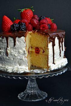 In the mood for.....: Vanilla layer cakes e nuovo contest