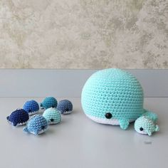"""4,074 Likes, 66 Comments - Crochet Cwroochet 2e Dr- by Jenn ✴ (@croochetshop) on Instagram: """"Haven't made a gigantic chubby whale in a long long long time. I don't know how much rounder they…"""""""