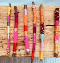 Making magic wands yourself – DIY Upcycling Daisies & Sunshine - Diy Projects Diy Projects To Sell, Diy Crafts To Sell, Crafts Cheap, Sell Diy, Diy For Teens, Diy For Kids, Bunny Templates, Money Magic, Deco Nature