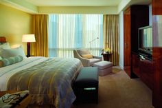 Ritz Carlton Westchester - Guest room features contemporary styling and luxe amenities
