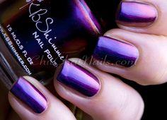 PIGMENT OF MY IMAGINATION.   KB Shimmer Multi-chrome Polish Winter 2013 Releases.