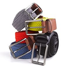 Perry Ellis web belt - everyday or that pop of color